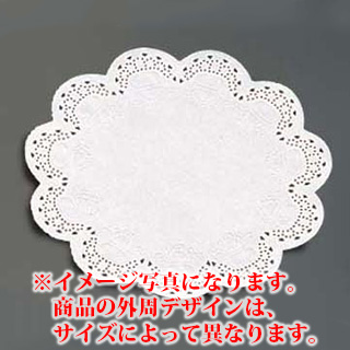 【まとめ買い10個セット品】『レースペーパー お菓子作り』レースペーパー丸型[300枚入] 16号