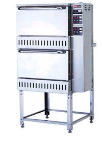 【 業務用炊飯器 】 〔RAS-105-T〕リンナイ業務用立体型自動式ガス炊飯器 2段 予約タイマー付 【 メーカー直送/後払い決済不可 】