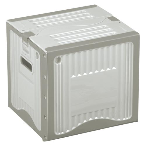 【まとめ買い10個セット品】リスボックス グレー リスボックス26B(LGY/GY) ライトグレー/グレー 1個 岐阜プラスチック工業