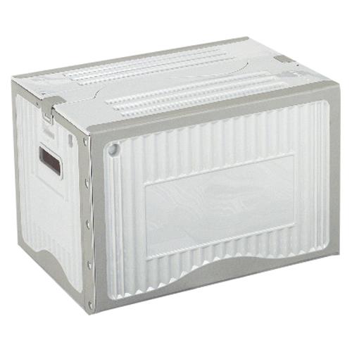 【まとめ買い10個セット品】リスボックス グレー リスボックス40BII(LGY/GY) ライトグレー/グレー 1個 岐阜プラスチック工業
