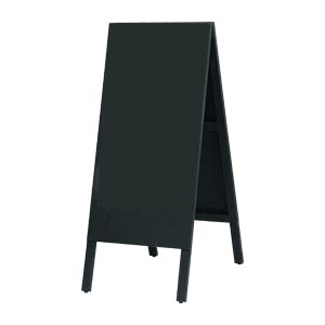 【まとめ買い10個セット品】 木製A型案内板  WA450K