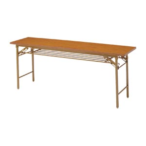 【まとめ買い10個セット品】 折りたたみテーブル  YKT-1845(TE) チーク
