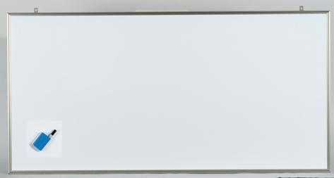 【まとめ買い10個セット品】軽量ホワイトボード NVシリーズ 無地 (スチールホワイト製) CNV36 1枚 馬印 【メーカー直送/代金引換決済不可】【 オフィス家具 ホワイトボード 掲示板 ホワイトボード 】
