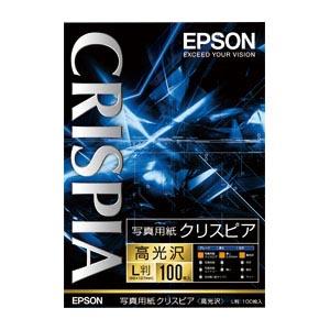 【まとめ買い10個セット品】 エプソン純正プリンタ用紙 写真用紙クリスピア(高光沢) KL100SCKR