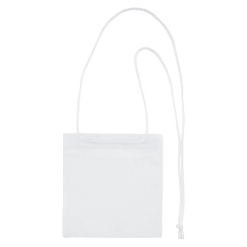 【まとめ買い10個セット品】 カラーイベント吊り下げ名札 イベントサイズ・50枚入 VN-371-W 白
