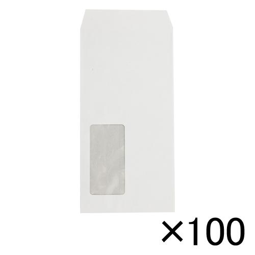 【まとめ買い10個セット品】マド付封筒 100枚入 31520 ホワイト 100枚 寿堂【 事務用品 印章 封筒 郵便用品 封筒 】