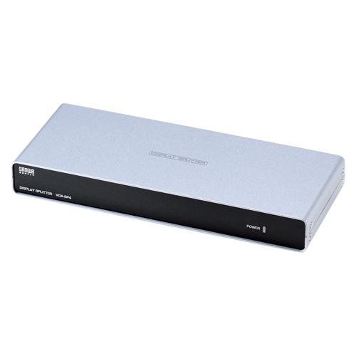 【まとめ買い10個セット品】高性能ディスプレイ分配器 VGA-SP4 1台 サンワサプライ 【メーカー直送/代金引換決済不可】【 PC関連用品 LAN用品 USB関連品 ディスプレイ分配器 】