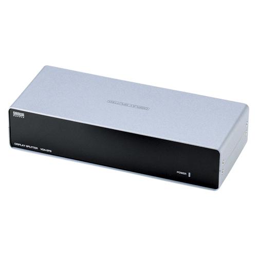 【まとめ買い10個セット品】高性能ディスプレイ分配器 VGA-SP8 1台 サンワサプライ 【メーカー直送/代金引換決済不可】【 PC関連用品 LAN用品 USB関連品 ディスプレイ分配器 】