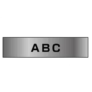 【まとめ買い10個セット品】ピータッチ用 テープカートリッジ 銀マットテープ 8m TZe-M951 銀(つや消し) 黒文字 1巻8m ブラザー