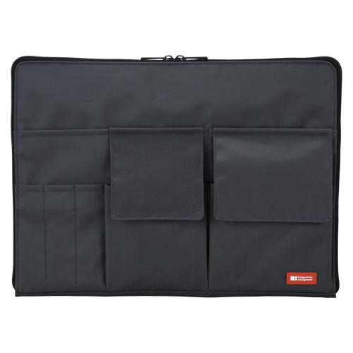 【まとめ買い10個セット品】 バッグ イン バッグ A4サイズ A-7554-24 黒