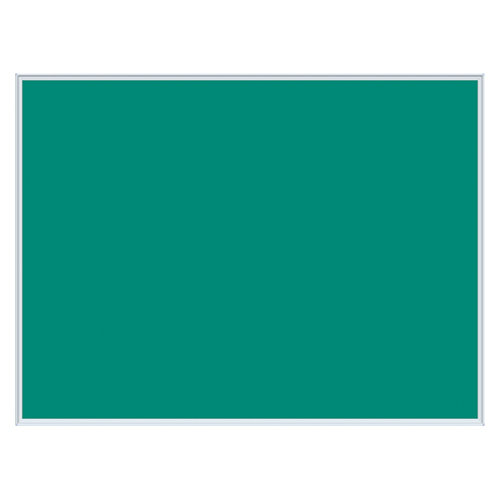 【まとめ買い10個セット品】 壁掛け用ワンウェイ掲示板 グリーン K34-708