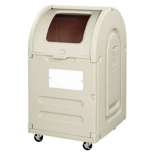 【まとめ買い10個セット品】 エコランドステーションボックス 窓つき・キャスタータイプ #300C 透明