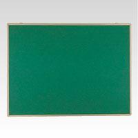 【まとめ買い10個セット品】 掲示板 壁掛用 ベルフォーム貼・アルミ枠 グリーン CR-BK23-G