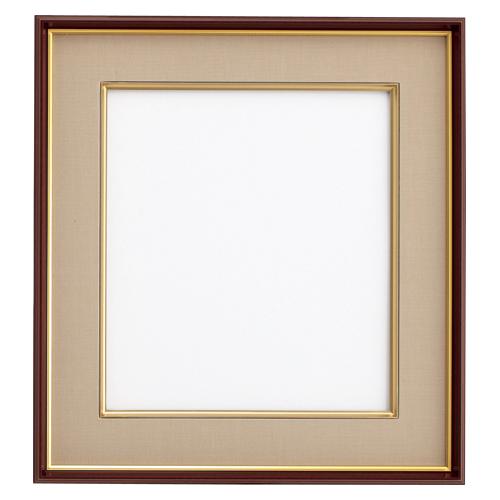 【まとめ買い10個セット品】 色紙額    DG4954−BW ブラウン/ベージュ:厨房卸問屋 名調