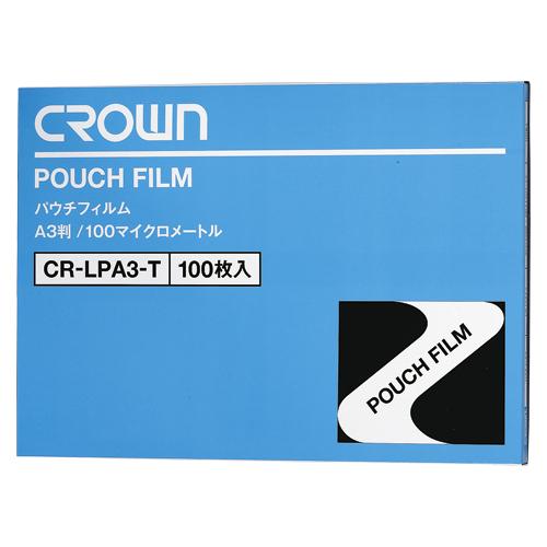 【まとめ買い10個セット品】 パウチフィルム 100枚入 CR-LPA3-T