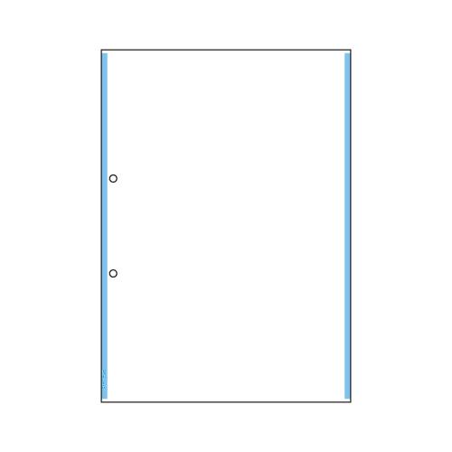 【まとめ買い10個セット品】 マルチプリンタ帳票 複写タイプ 100枚入 ラインタイプ BPC2200 ブルー