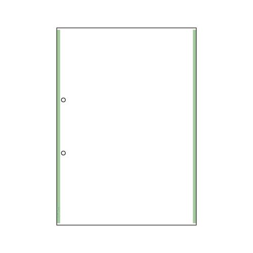 【まとめ買い10個セット品】マルチプリンタ帳票 複写タイプ 100枚入 ラインタイプ BPC2203 グリーン 100枚 ヒサゴ