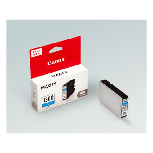 【まとめ買い10個セット品】インクジェットカートリッジ PGI-1300C 1個 キヤノン