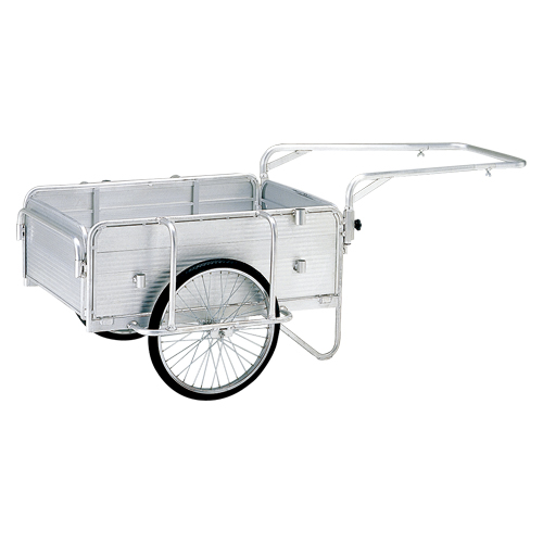 【まとめ買い10個セット品】 折りたたみ式リヤカー ハンディキャンパー  PHC-130