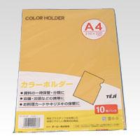 crw-26471 まとめ買い10個セット品 カラーホルダー A4判 CC-141-07 無料 超激安特価 イエロー