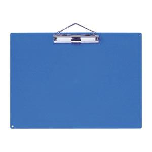 公式ショップ crw-26582 まとめ買い10個セット品 カラー用箋挟 訳ありセール 格安 青 KB-801-BU A3判ヨコ型