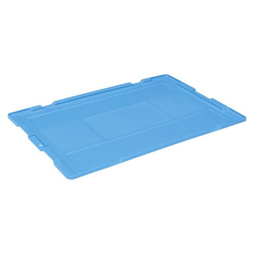 【まとめ買い10個セット品】折りたたみコンテナー専用蓋 NR75 IC蓋(ブルー) 1枚 岐阜プラスチック工業