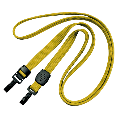 【まとめ買い10個セット品】ループクリップ ダブルフック式 NX-7-YE 黄 10本 オープン
