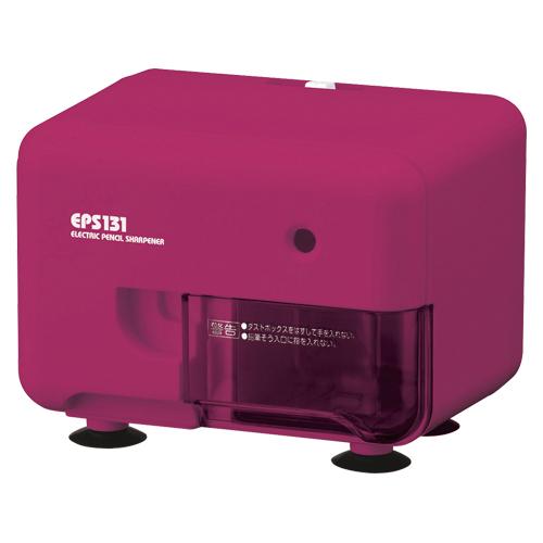 【まとめ買い10個セット品】電動シャープナー EPS131P ピンク 1個 アスカ