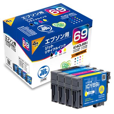 【まとめ買い10個セット品】インクジェットカートリッジ JIT-E694P 1セット ジット