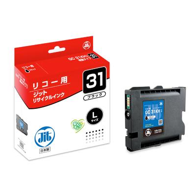 【まとめ買い10個セット品】インクジェットカートリッジ JIT-R31BH 1個 ジット