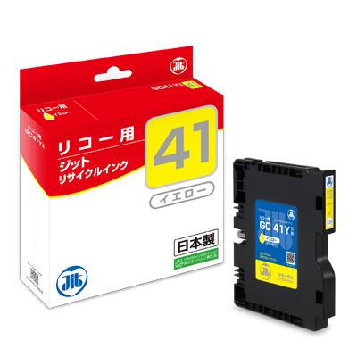 【まとめ買い10個セット品】インクジェットカートリッジ JIT-R41Y 1個 ジット