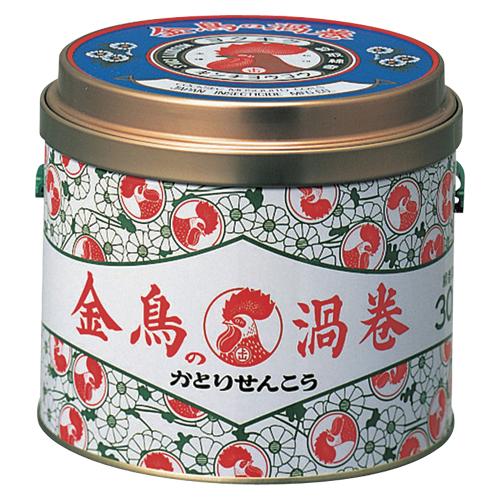 【まとめ買い10個セット品】金鳥の渦巻 金鳥の渦巻 30巻(缶) 30巻 大日本除虫菊