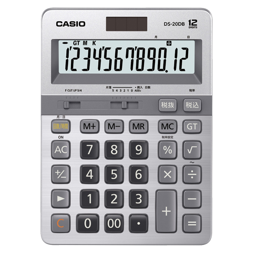 【まとめ買い10個セット品】電卓 DS-20DB-N 1台 カシオ