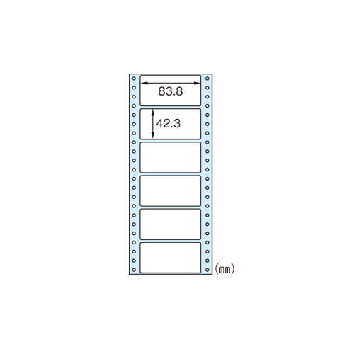 【まとめ買い10個セット品】タックシール SB354 1500シート 9000片 ヒサゴ【 PC関連用品 OA用紙 タックシール 】