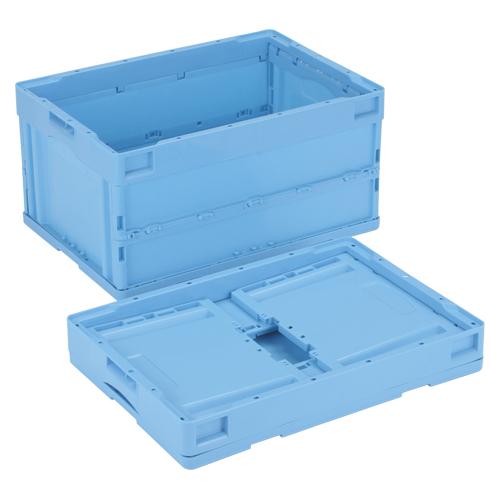 【まとめ買い10個セット品】折りたたみコンテナー フタなし/青 CB-S41NR(ブルー) 1個 岐阜プラスチック工業
