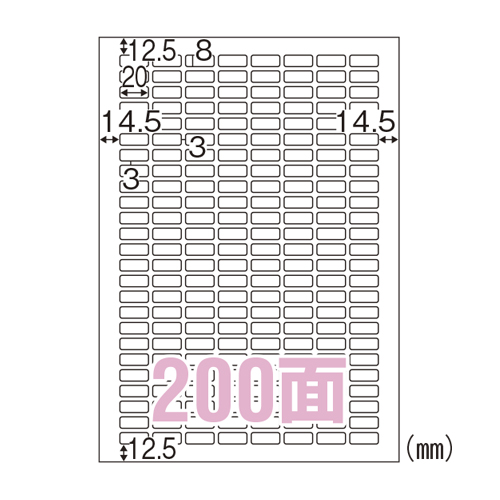 【まとめ買い10個セット品】エコノミーラベル A4判 100枚入 ELM038 100枚 ヒサゴ