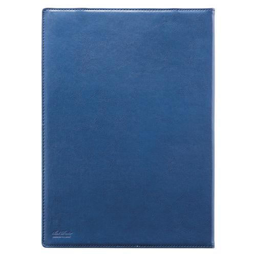 【まとめ買い10個セット品】ベルポスト クリップファイル(二つ折りタイプ) A4判タテ型 BP-5724-10 ブルー 1枚 セキセイ