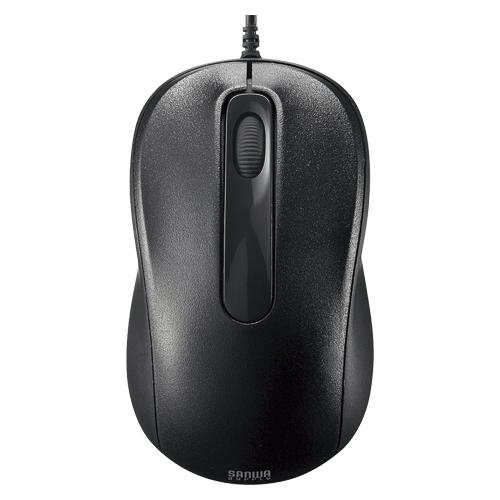 【まとめ買い10個セット品】有線レーザーマウス MA-LS26BK ブラック 1個 サンワサプライ