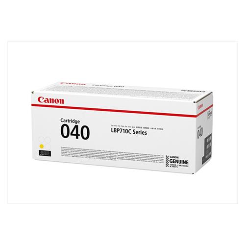 【まとめ買い10個セット品】 カラーレーザートナー  CRG-040YEL イエロー