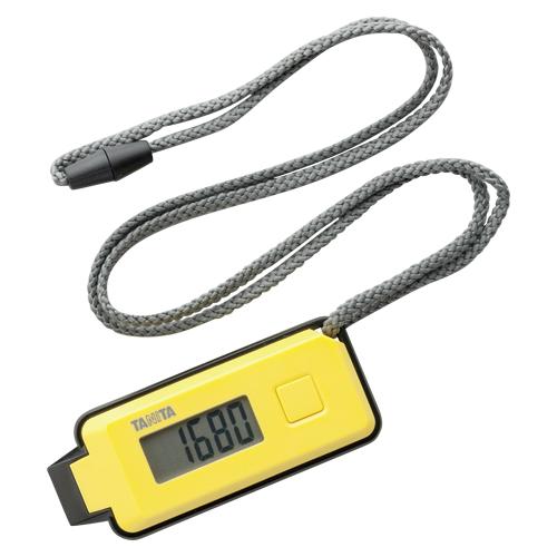 【まとめ買い10個セット品】3Dセンサー搭載歩数計 歩イッスル FB-738-YL イエロー 1個 タニタ