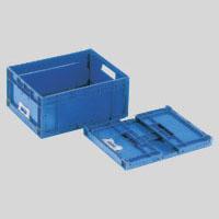 【まとめ買い10個セット品】折りたたみコンテナーF-Box F-BOX112G ダークブルー 1個 岐阜プラスチック工業