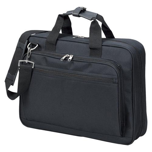 【まとめ買い10個セット品】コンピュータバッグ CR-BB203-B 黒 1個 クラウン【 ファイル ケース ケース バッグ ビジネスバッグ 】