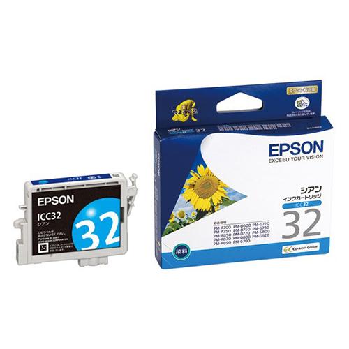 【まとめ買い10個セット品】インクジェットカートリッジ ICC32 1個 エプソン【 PC関連用品 トナー インクカートリッジ インクジェットカートリッジ 】