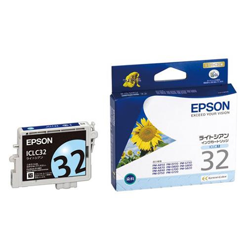 【まとめ買い10個セット品】インクジェットカートリッジ ICLC32 1個 エプソン【 PC関連用品 トナー インクカートリッジ インクジェットカートリッジ 】