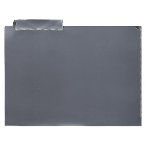 【まとめ買い10個セット品】 カルテホルダー 見出し紙付き  CR-YG64-C クリア