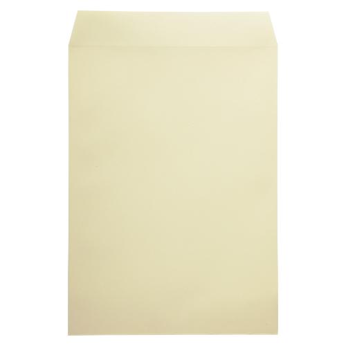 【まとめ買い10個セット品】 藤壺事務用封筒カラー(100枚パック) 角2 PK-121C クリーム