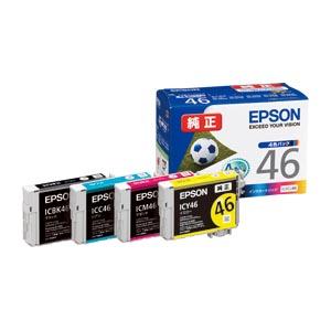 【まとめ買い10個セット品】インクジェットカートリッジ IC4CL46 1セット エプソン【 PC関連用品 トナー インクカートリッジ インクジェットカートリッジ 】