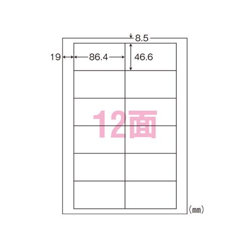 【まとめ買い10個セット品】 ナナラベル A4判 シンプルパック LDW12PBA