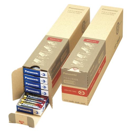 【まとめ買い10個セット品】 アルカリ乾電池 パナソニックアルカリ(金) オフィス電池 LR6XJN/100S
