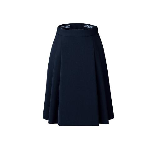 カンセン バックアップカイロポケット付ソフトプリーツスカート オフィスウエア FS45791-7 11 ネイビー